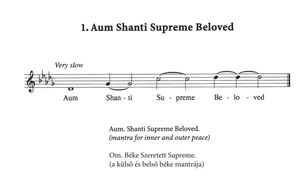01-aum-shanti - mantra meditációhoz