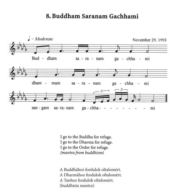 08-buddham-saranam - mantra meditációhoz